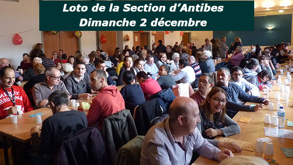 Home loto Antibes 2018