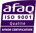 logo afaq iso 9001 png