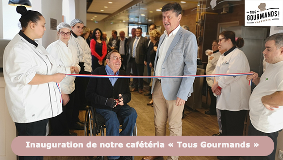Inauguration cafet Une