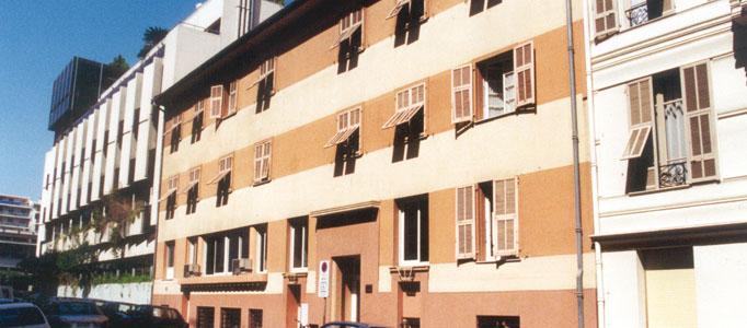 Foyer d'Hébergement Riviera Nice-Menton, Site Torrini Nice