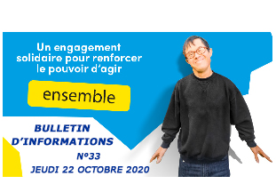 Bulletin d'informations - jeudi 22 octobre 2020